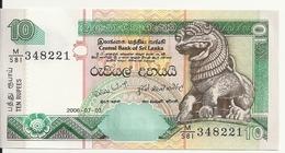 SRI LANKA 10 RUPEES 2006 UNC P 115 E - Sri Lanka