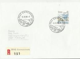 CH R-CV 1990 3543 - Poststempel