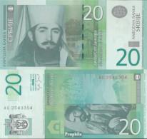 Serbien Pick-Nr: 47a Bankfrisch 2006 20 Dinara - Serbia