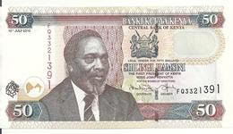 KENYA 50 SHILLINGI 2010 UNC P 47 E - Kenia