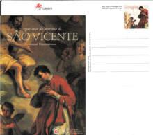PORTUGAL - Entier Postal Neuf - 1700 Ans Du Martyre De Saint Vincent - Postal Stationery
