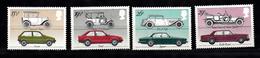 Groot-Brittannie 1982  Mi Nr 929 - 932 , Auto,s Car, Austin, Ford, Jaguar, Rolls Royce - Unused Stamps