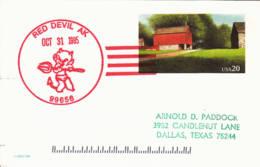 USA - 1985 - Entier Postal - Red Devil (Alaska) - Diable Rouge - Ganzsachen