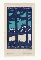 Lucerna Ardens N° 11, Par Fra Nodet, Benedicite Glacies Et Nives Domino, Cantique Des Trois Enfants, Scout, Scoutisme - Santini