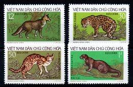 VIET-NAM NORD - YT N° 786 à 789 - Neufs ** - MNH - Cote: 8,00 € - Viêt-Nam