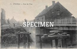 3 Pont De L'Yser - Stavele - Alveringem