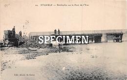 10 Sentinelles Sur Le Pont De L'Yser - Stavele - Alveringem