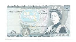 United Kingdom / Great Britain - Elizabeth II - 5 Pounds - 5 Pounds