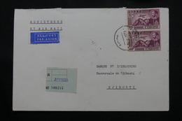 ETHIOPIE - Enveloppe En Recommandé De Asmara Pour Djibouti En 1973, Affranchissement Plaisant - L 60310 - Äthiopien