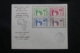 ETHIOPIE - Enveloppe FDC En 1958 - Conférence Economique - L 60311 - Äthiopien