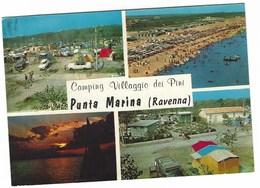 5988 - CAMPING VILLAGGIO DEI PINI PUNTA MARINA RAVENNA 4 VEDUTE 1966 - Italia