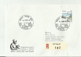 CH R- CV 1989 8847 - Poststempel