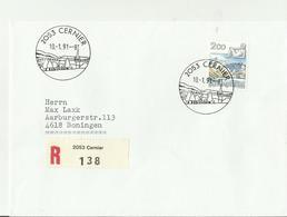CH R- CV 1991 2053 - Poststempel