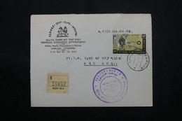 ETHIOPIE - Enveloppe En Recommandé De Asmara En 1967, Affranchissement Plaisant - L 60317 - Äthiopien