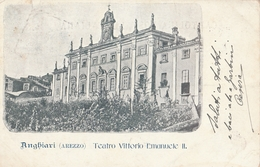 Cartolina - Postcard /  Viaggiata - Sent /  Anghiari, Teatro Vittorio Emanuele II - Arezzo