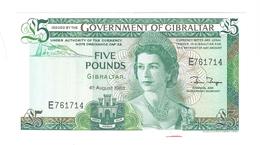 Gibraltar - Elizabeth II - 5 Pounds - Gibraltar