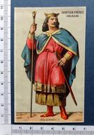 CHROMO CHOCOLAT SAINTOIN....   PERSONNAGES HISTORIQUES.....CLOTAIRE II - Altri