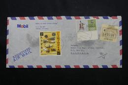ETHIOPIE - Enveloppe Commerciale En Recommandé De Asmara Pour Djibouti En 1970, Affranchissement Plaisant - L 60325 - Äthiopien