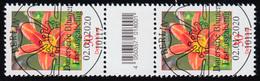 3509 Taglilie 30 Cent, Paar Mit Nummer - CF - Ohne Nummer ESSt Berlin 2.1.2020 - [7] Federal Republic