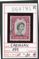Sarawak - Michel 199 - Oo Oblit. Used Gebruikt - - Sarawak (...-1963)