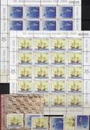 50 Years CEPT 2006 CROATIA 734/5,ZS,20-KB+Block 27 ** 185€ EUROPA Blocs Art S/s Ships M/s Space Sheetlets HRVATSKA - 2006