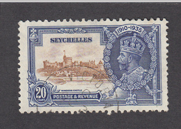 Seychelles 1935 Silver Jubilee 20c  SG130   Used - Seychelles (...-1976)
