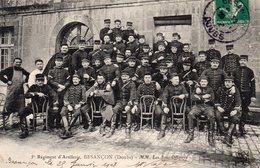 25 -5è Régiment D'Artillerie , (Besançon) - M.M .  Les SOUS-OFFICIERS . - Non Classés