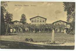 Bad Soden Taunus Hessen Kurhaus 1916 Nach Barmen - Bad Soden