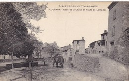 Puy-de-Dôme - Cournon - Place De La Chaux Et Route De Lempdes - Altri Comuni