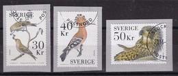 Sweden 2016, Birds, High Values, Very Fine Used. Cv Aprox. 27,50 Euro - Usati