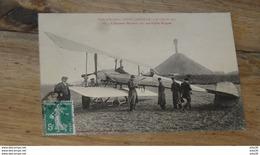 Fetes Aviation NANCY JARVILLE 1912 : Moineau Sur Son Biplan Bréguet  ………MZ2-3513 - Autres Communes