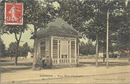CPA Soissons Place Saint-Christophe - Soissons
