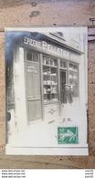 Carte Photo Epicerie PELLETIER Située Dans L'Indre Et Loire  .................... MO-2391 - Autres Communes