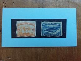 CANADA - TERRANOVA 1865/82 - Nn. 29 - 48 Catalogo Stanley Nuovi * (n.48 Leggera Piega) + Spedizione Prioritaria - 1865-1902