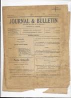Journal Et Bulletin Officiel De La REUNION..1942...1943   + DIVERS  IMPRIMERIE  M.F CAZAL - Non Classés