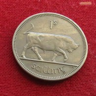 Ireland  1 Shilling 1966 KM# 14a  Irlande Irlanda Ierland Eire - Ireland