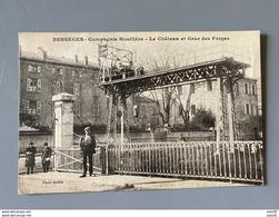 BESSEGES : Le Chateau Et Grue Des Forges .................... 4191 - Bessèges