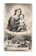 Image Pieuse Ricordo Del Santuario Di S. Maria Delle Grazie Dell'Agordino - Devotion Images