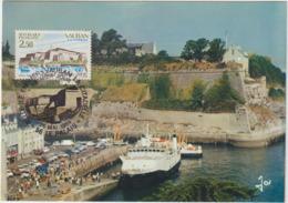 Carte-Maximum FRANCE N° Yvert 2325 (BELLE ILE - VAUBAN) Obl Sp Ill 1er Jour (Ed JOS 43.09) - 1980-89
