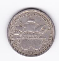 Superbe  1/2 Dollar Commémoratif 1893 Christophe Colomb  SUP - Other