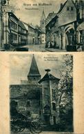 Mussbach Gruss Aus Rhénanie Palatinat Deutschland Allemagne   ...Storchenturm Und Julius Schäfer ... 1919 - Autres