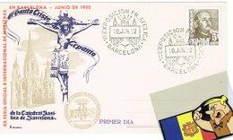 TP TARJETA POSTAL FERIA BARCELONA 1952 ARXIVO CFB - 1931-Hoy: 2ª República - ... Juan Carlos I