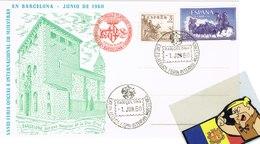 TP TARJETA POSTAL FERIA BARCELONA 1960 ARXIVO CFB - 1931-Hoy: 2ª República - ... Juan Carlos I