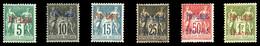 * N°1/6, Série Complète, Les 6 Valeurs TB (certificat)  Qualité: *  Cote: 665 Euros - Puerto Lagos (1893-1931)