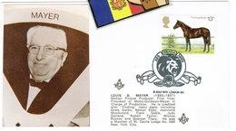 TEMA CINE COMMEMORATIF COVER SOBRE M.G.MAYER - 1931-Hoy: 2ª República - ... Juan Carlos I