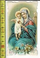 KL 4944 - O MARIE MERE DE DIEU REINE DES ANGES ET DU PARADIS - Images Religieuses