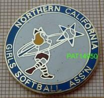 BASEBALL FEMININES GIRLS SOFTBALL   ASSN NORTHEN CALIFORNIA En Version EGF - Honkbal