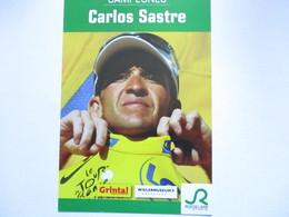 Cyclisme Photo Carlos Sastre - Cyclisme