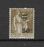 FRANCE 1934     N° 298    Timbre De 1932 Surchargé  NEUF - Neufs