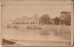 CHALON SUR SAONE - Ancien Hôpital St-Laurent, Bateaux Lavoirs, Linges , Bains Publics - Barques - Anciennes (Av. 1900)